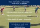 «Así trabaja la FGSL en Menores»: Charla para profesores y encargados de Escuelas de Menores y dirigentes y staff de los clubes
